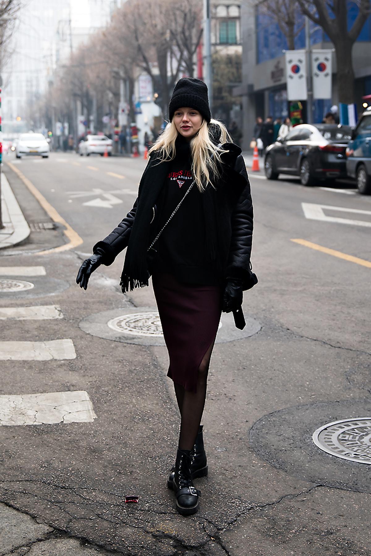 Alex O alexolb, Street style women winter 2017-2018 inseoul