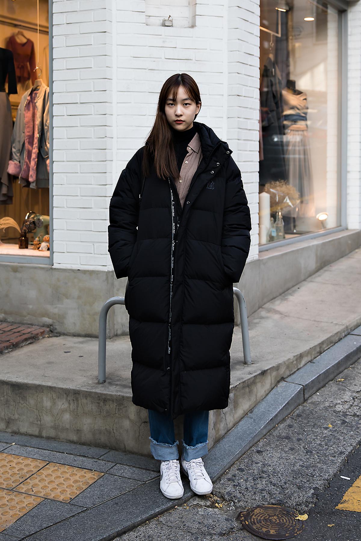 An Jisoo, Street style women winter 2017 inseoul