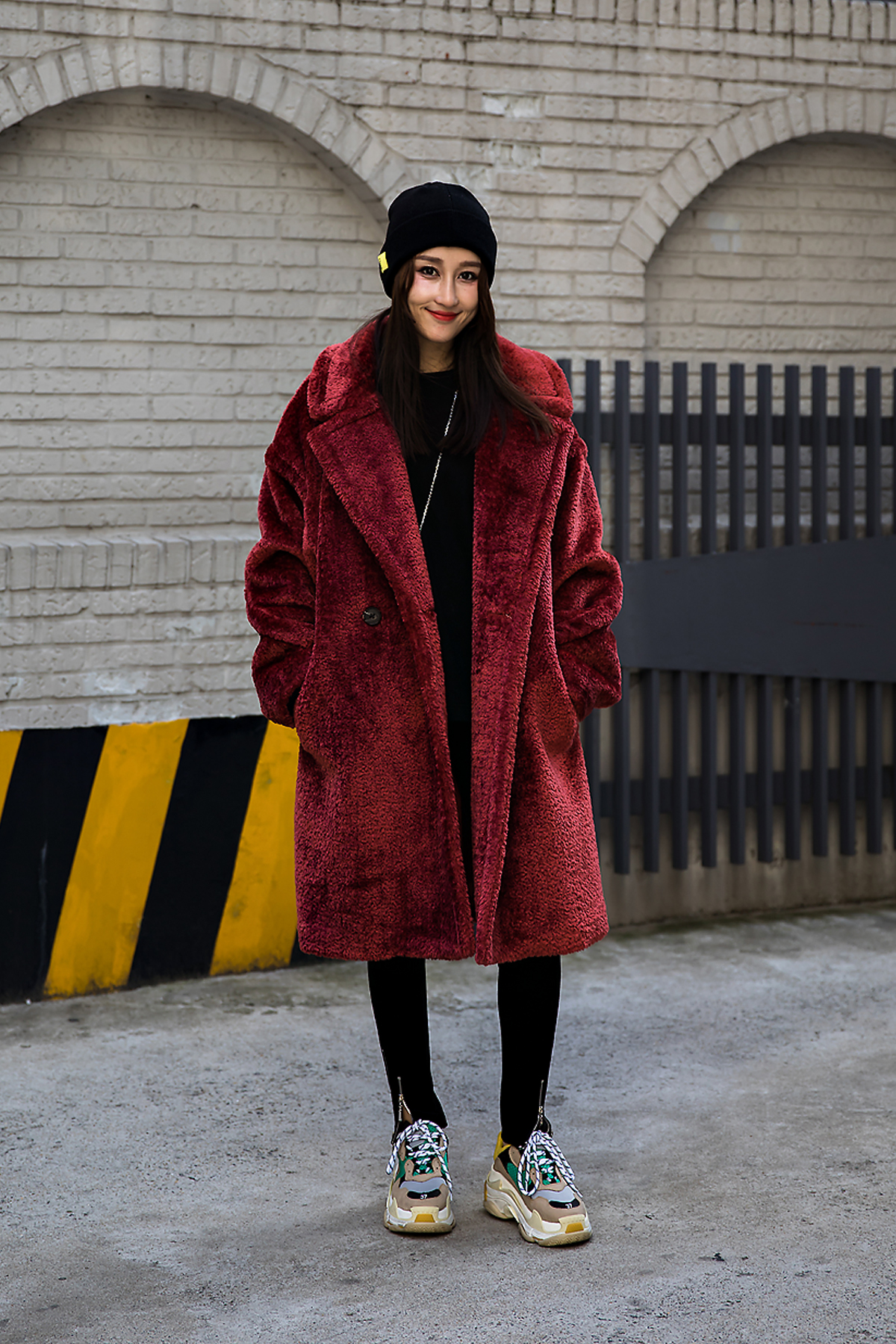 Chichi, Street style women winter 2017 in seoul