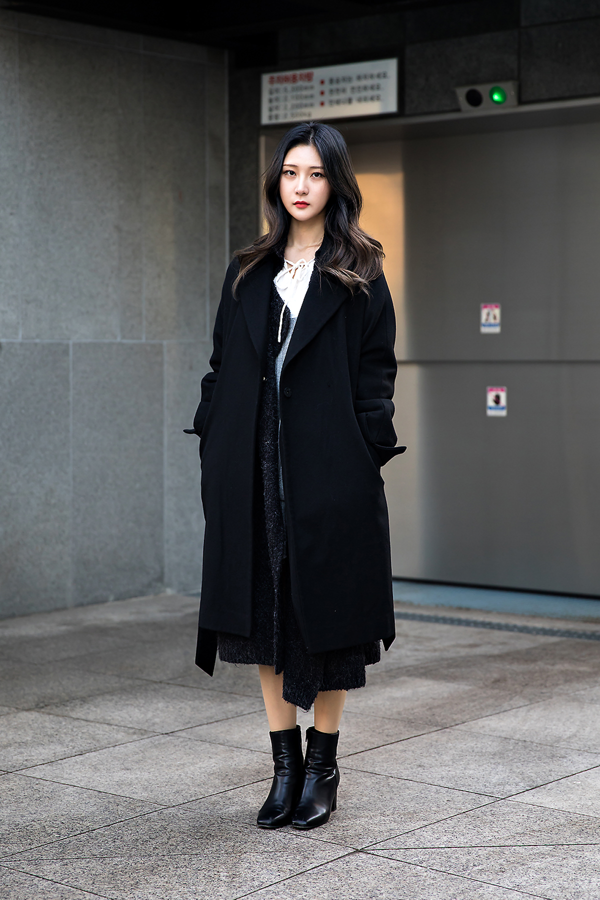 Cho Yeeun, Street style women winter 2017-2018 inseoul