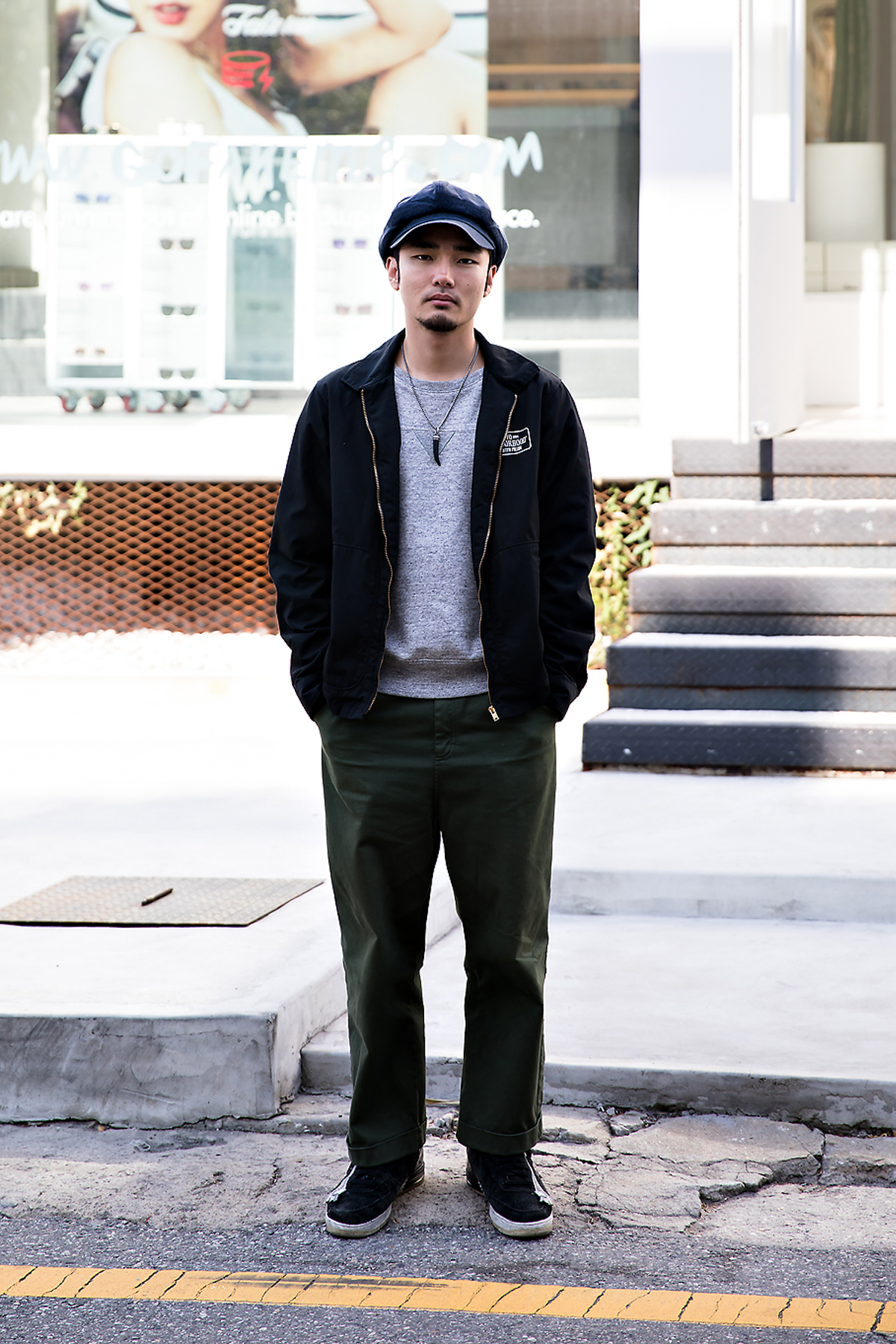 Jeon Juyoung, Street style men fall 2017 in seoul