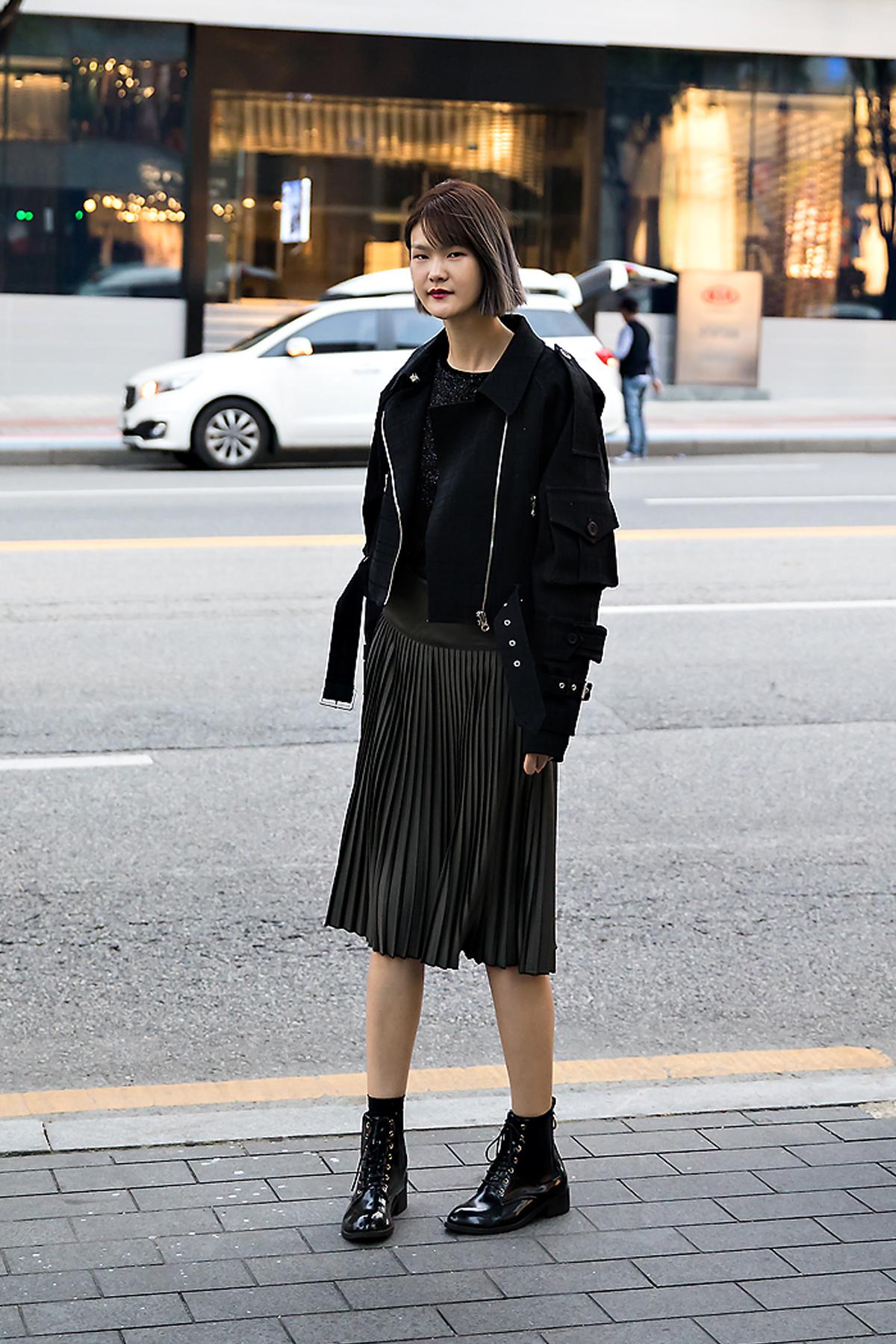 Jeon Soomin, Street style women fall 2017 inseoul