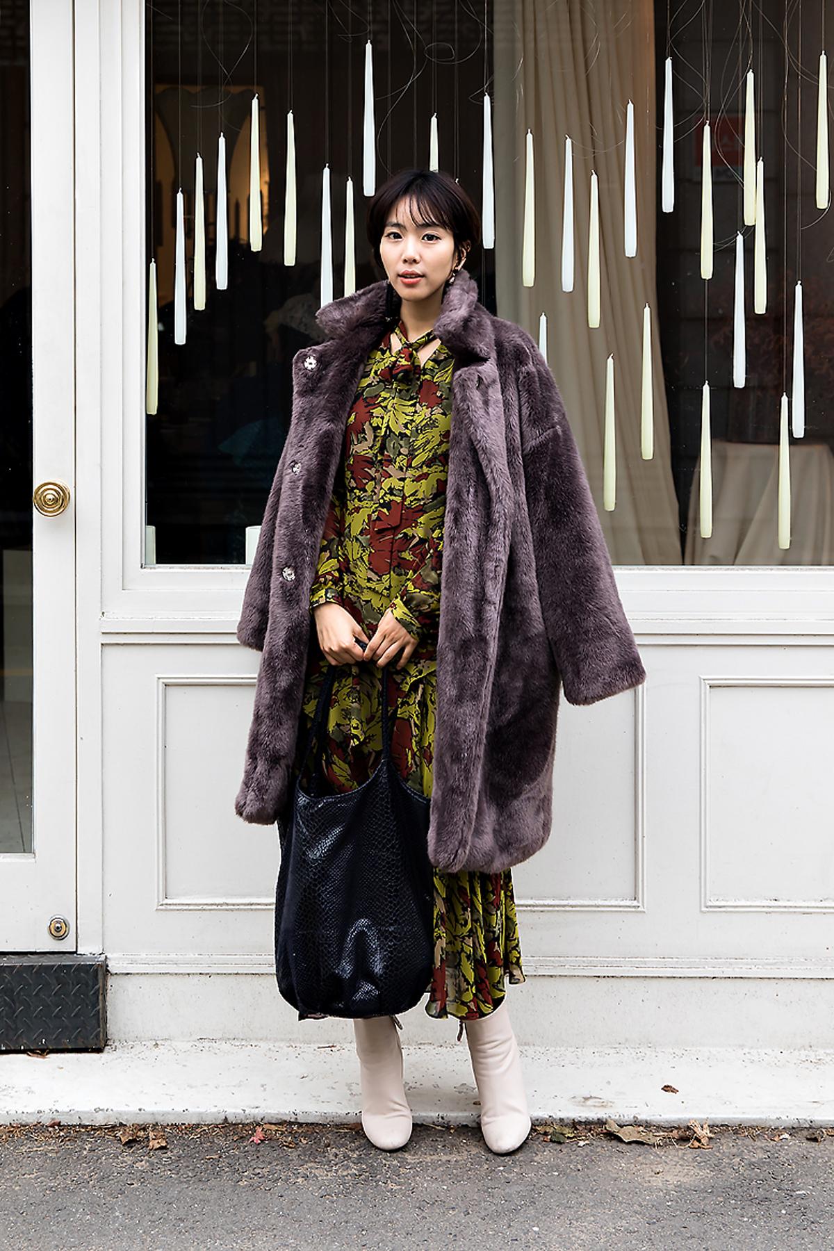 Kim Bokyung, Street style women winter 2017 inseoul