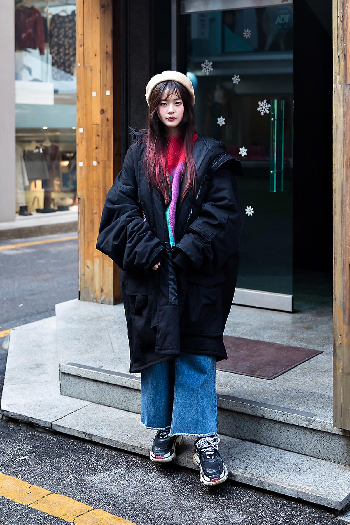 Kim Eunha, Street style women winter 2017-2018 inseoul