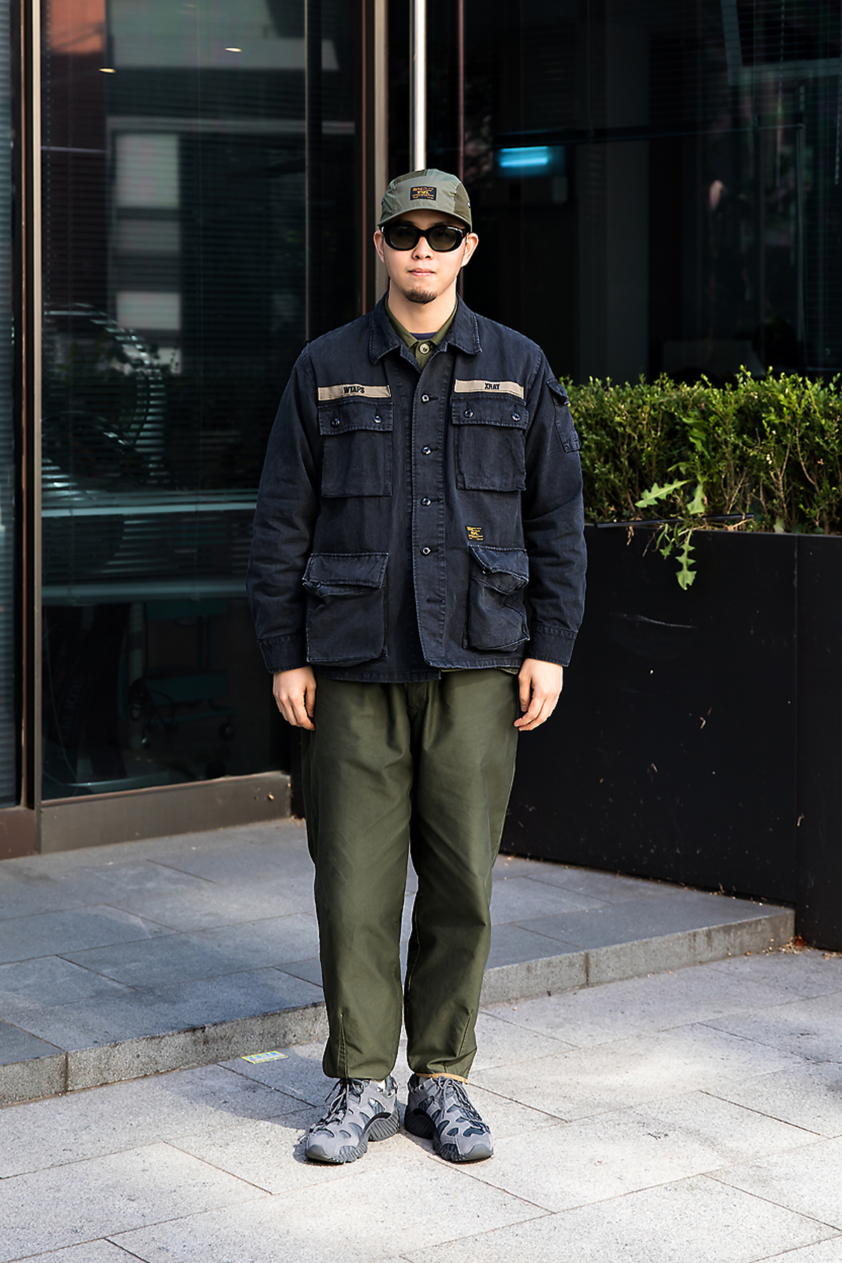 Kim Jiwoong, Street style men fall 2017 in seoul 1