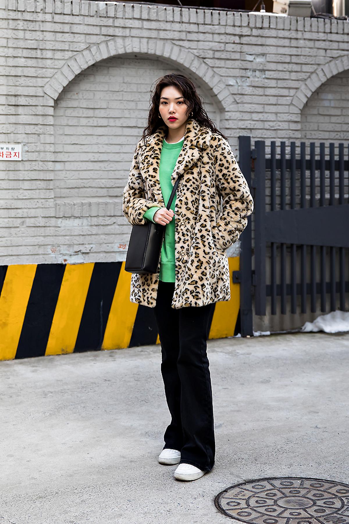 Kim Soojin, Street style women winter 2017-2018 inseoul