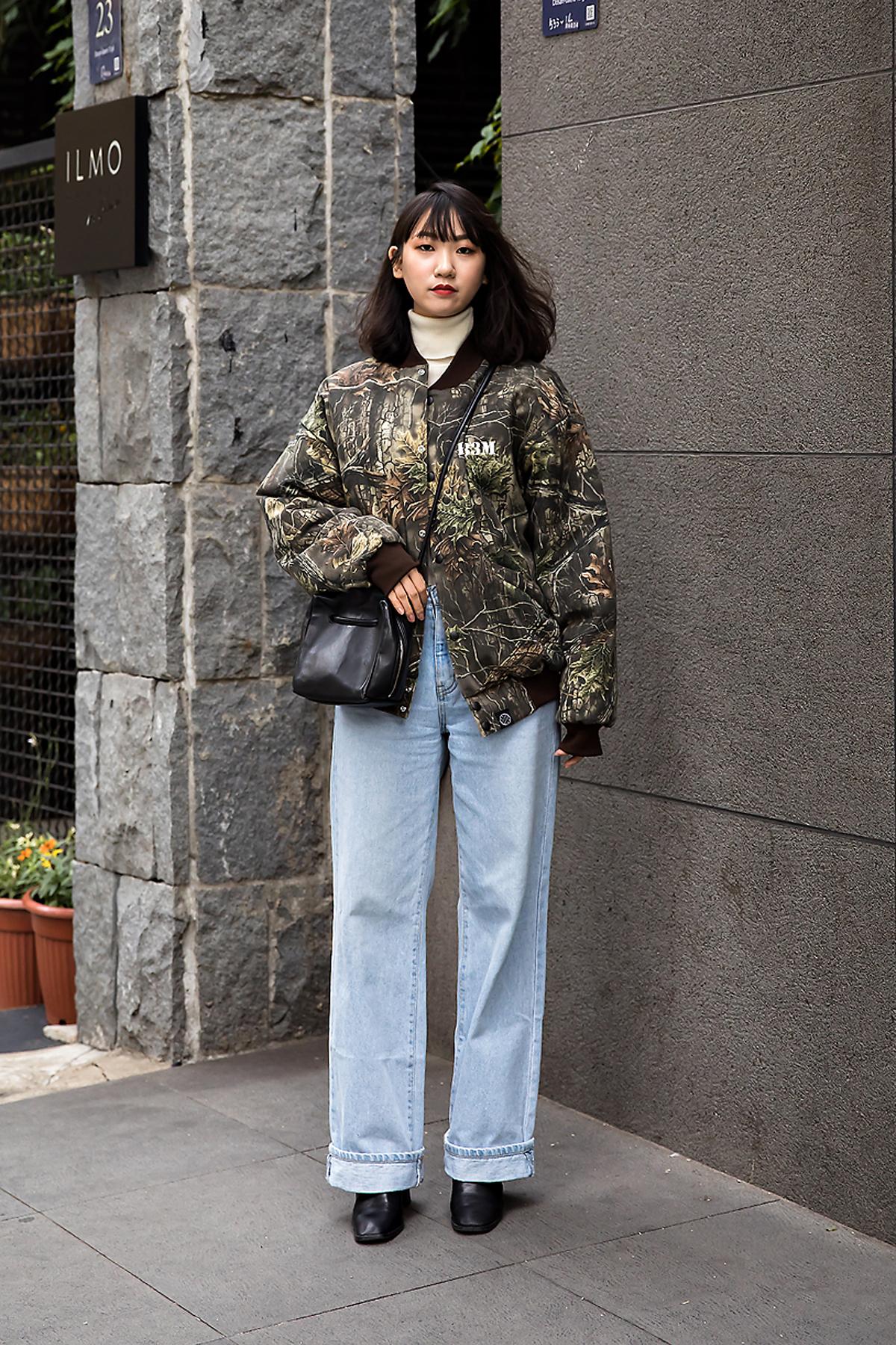 Kim Sungmin, Street style women winter 2017 inseoul