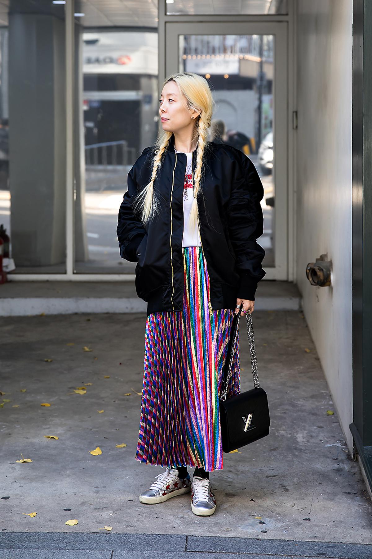kkimo, Street style women winter 2017 inseoul