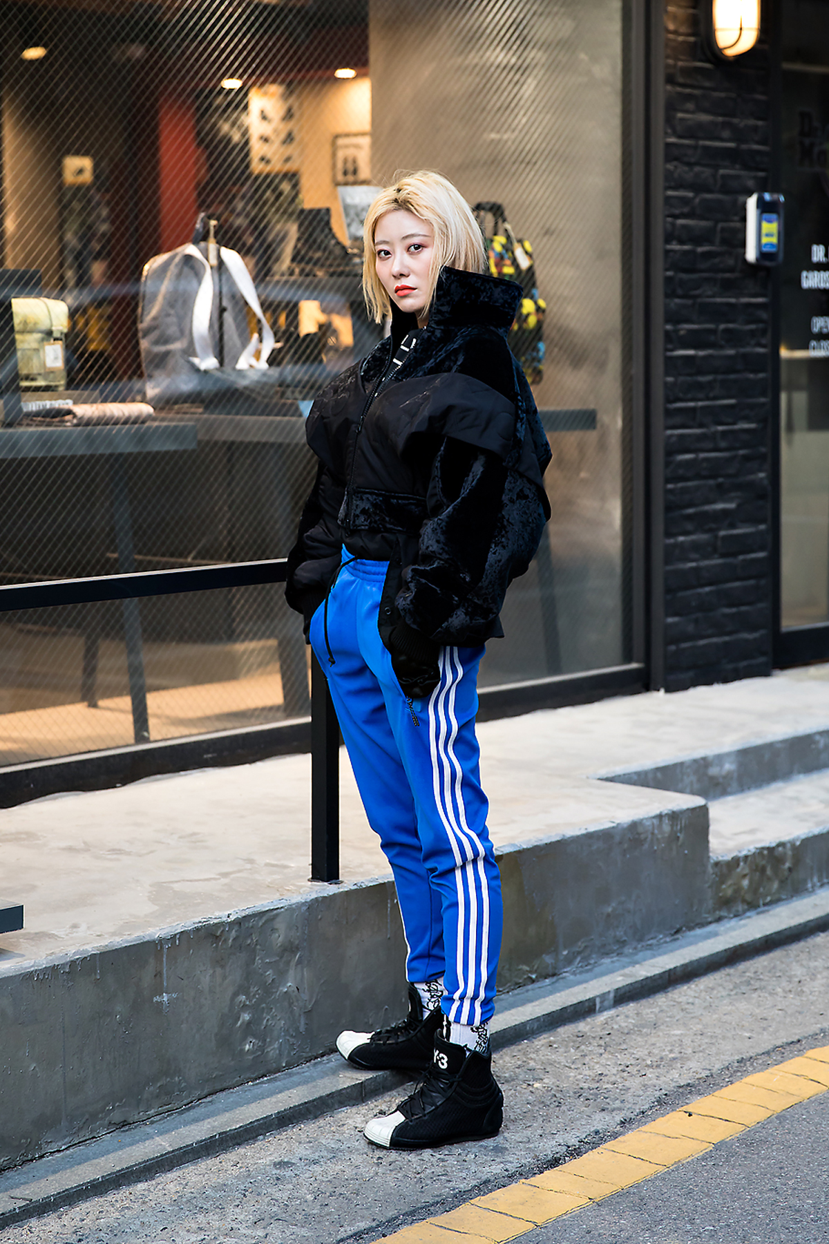 Lee Jiyeon, Street style women winter 2017 inseoul