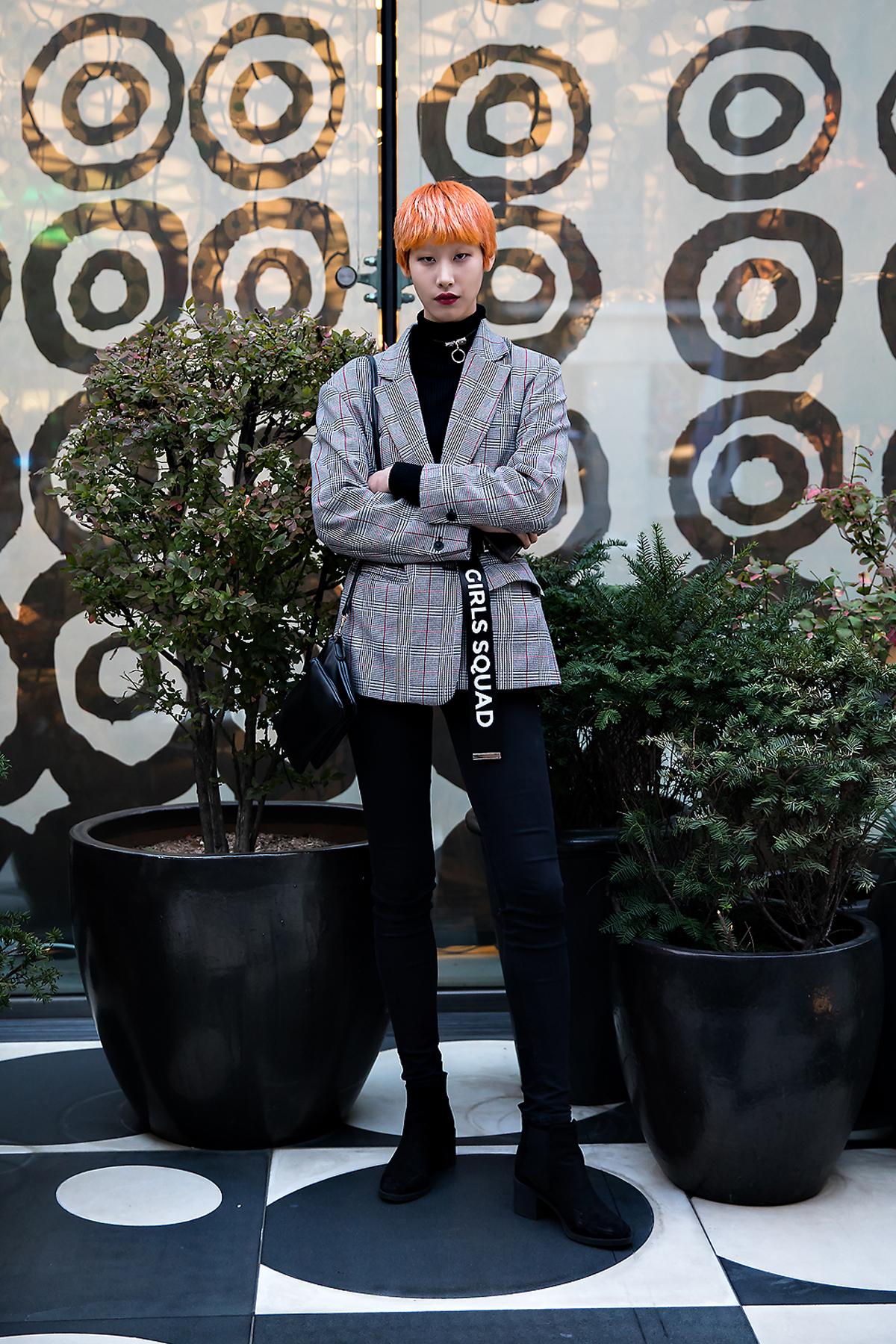 Lee Jungmoon, Street style women fall 2017 inseoul