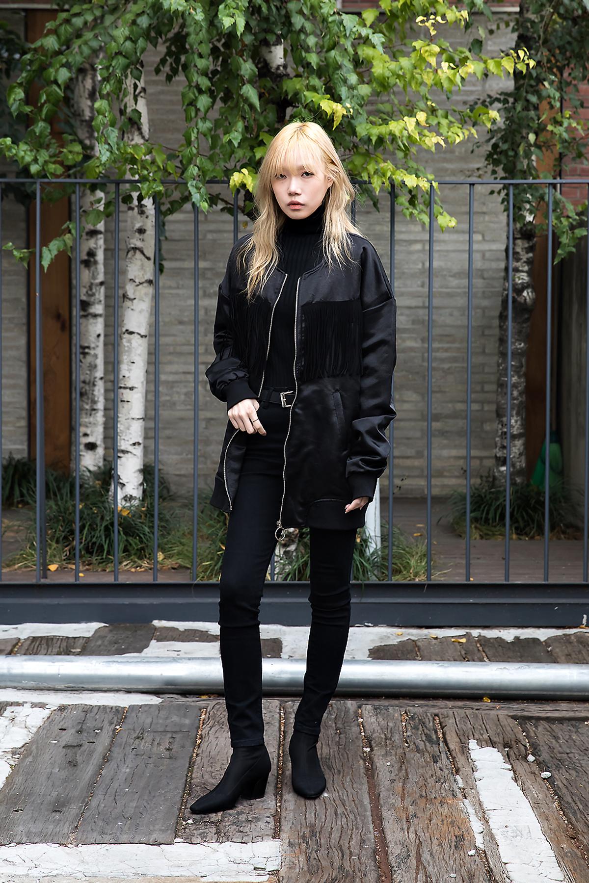 Lee Juyeon, Street style women fall 2017 inseoul