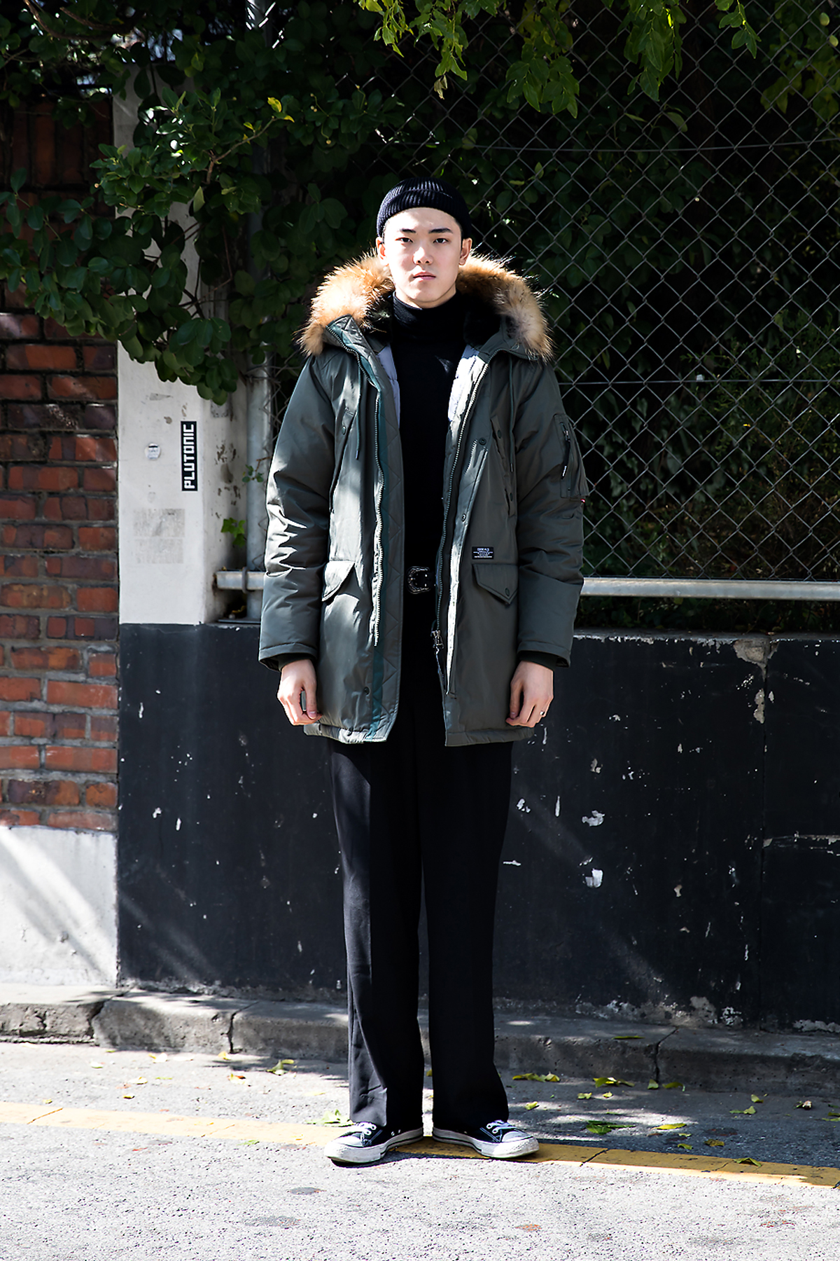 Lee Seungki, Street style men fall 2017 in seoul