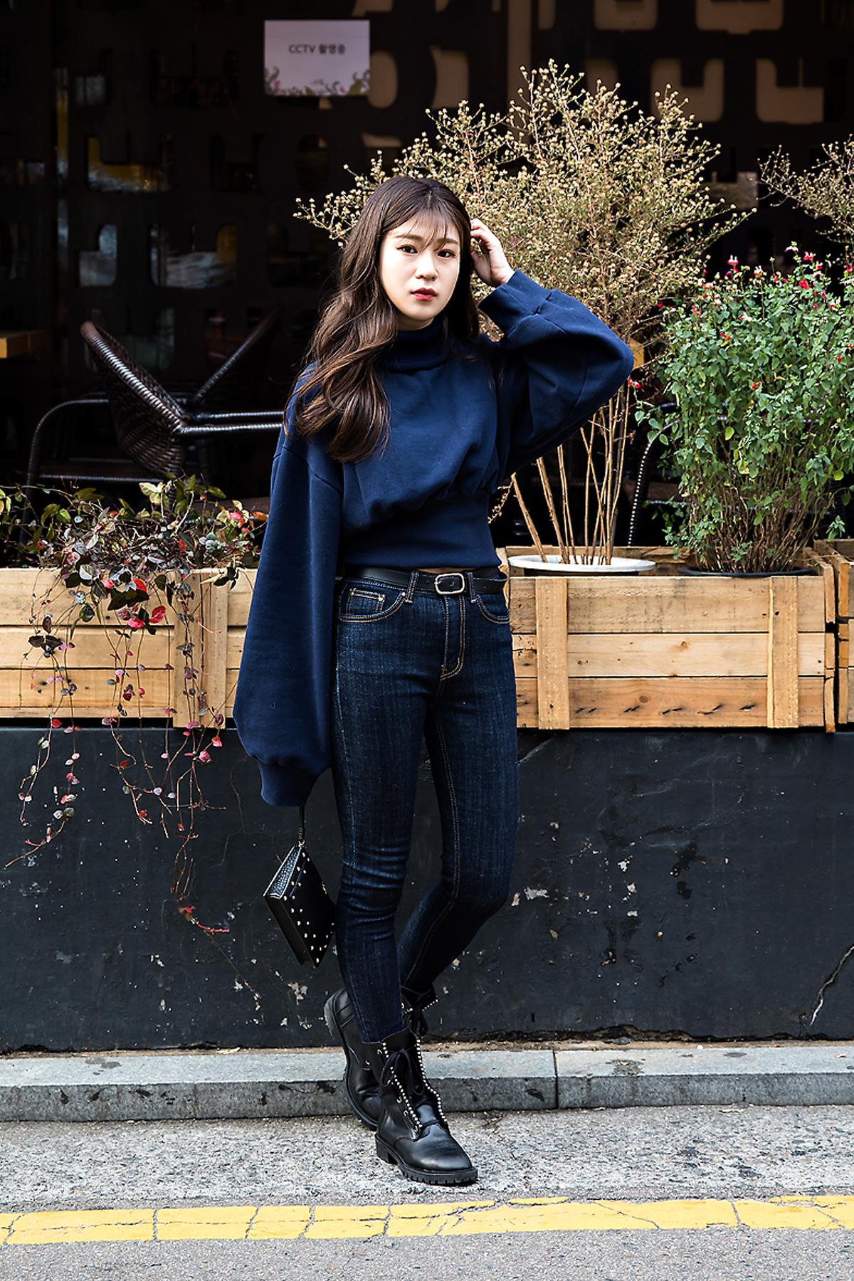 Lee Soohee, Street style women winter 2017 inseoul
