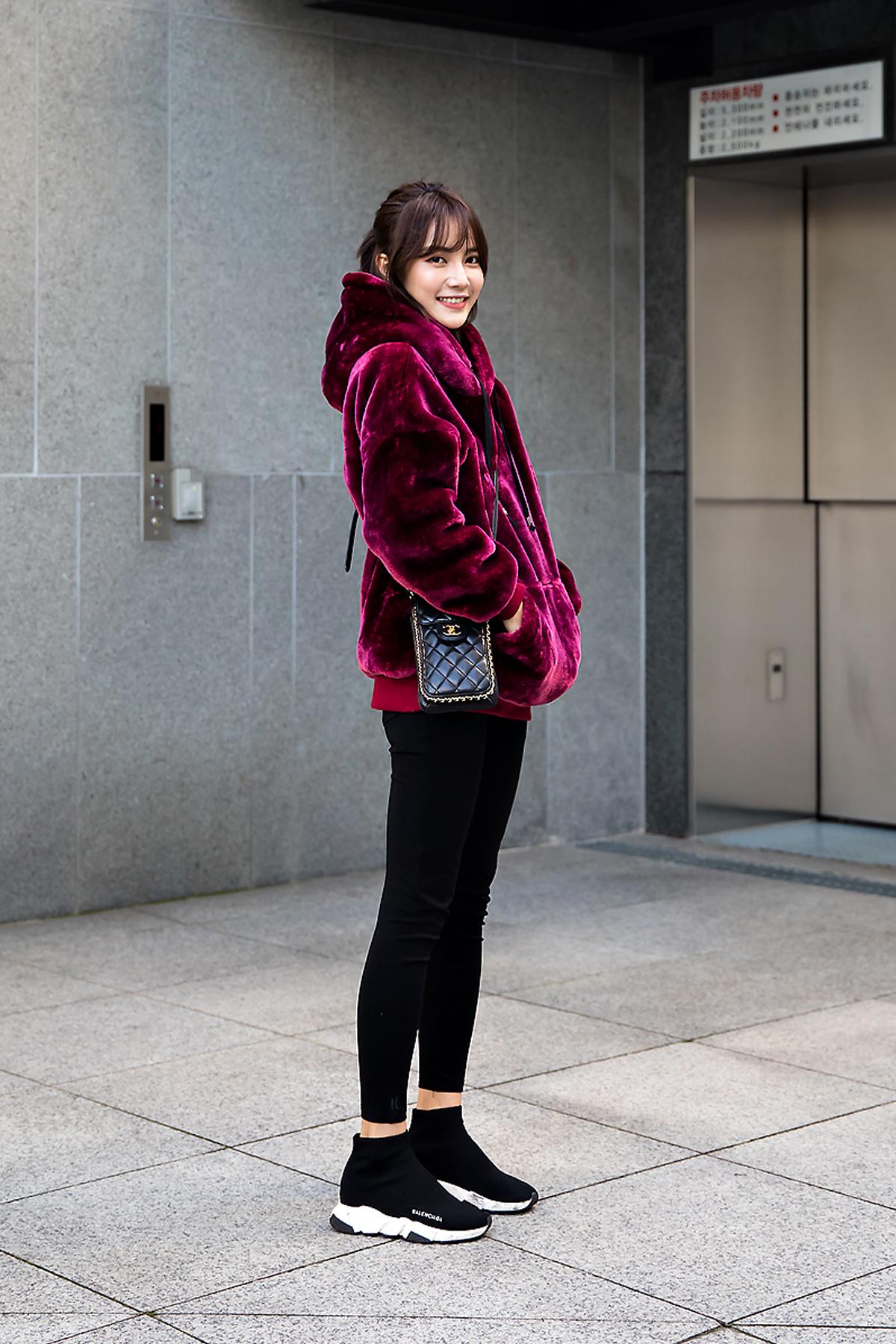 May, Street style women winter 2017 inseoul