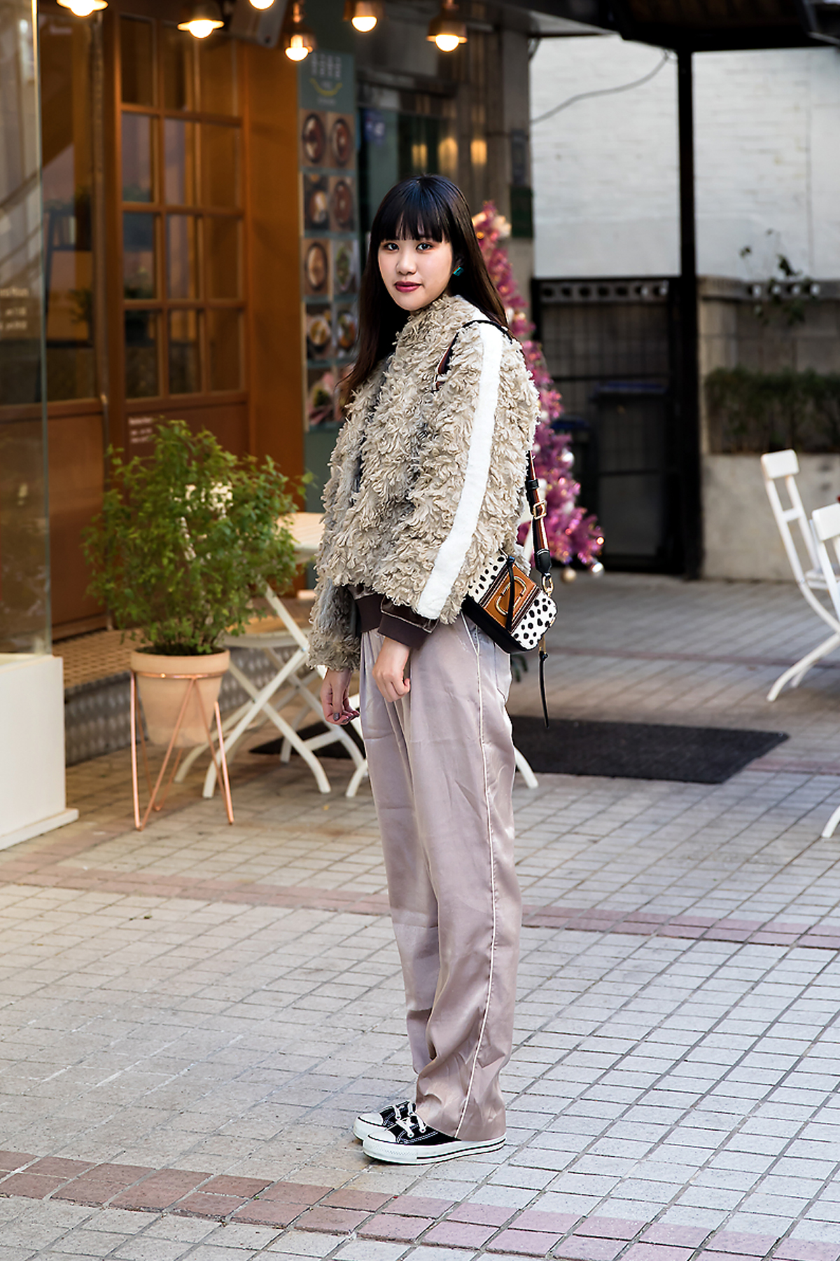 Michi, Street style women winter 2017 in seoul