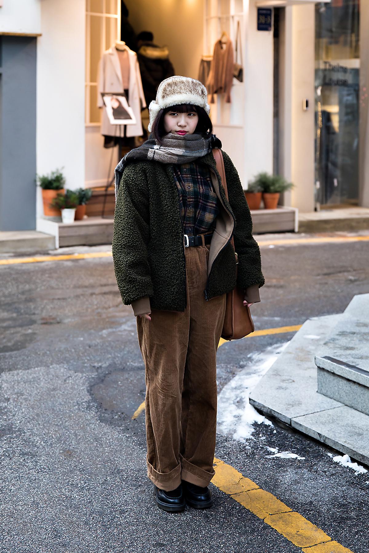 Mirai Obuchi, Street style women winter 2017-2018 inseoul