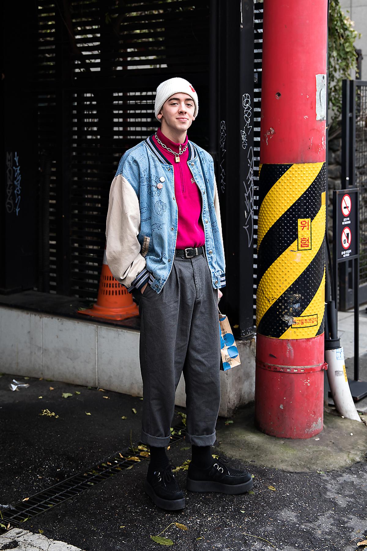 Nico, Street style men winter 2017 inseoul