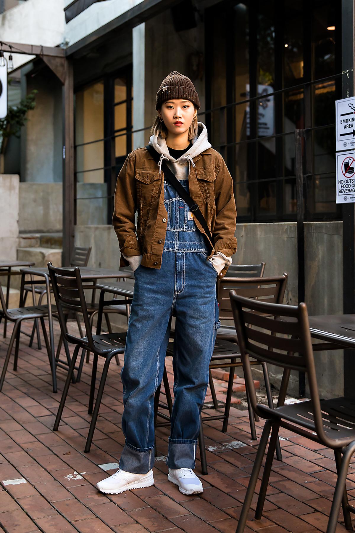 Park Jiae, Street style women fall 2017 inseoul