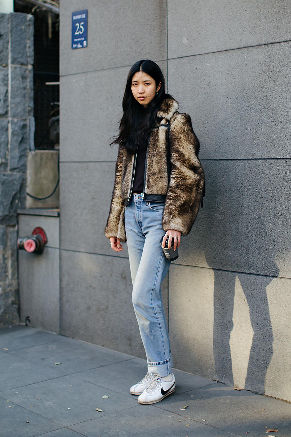 Park Taehee, Street style women winter 2017-2018 inseoul