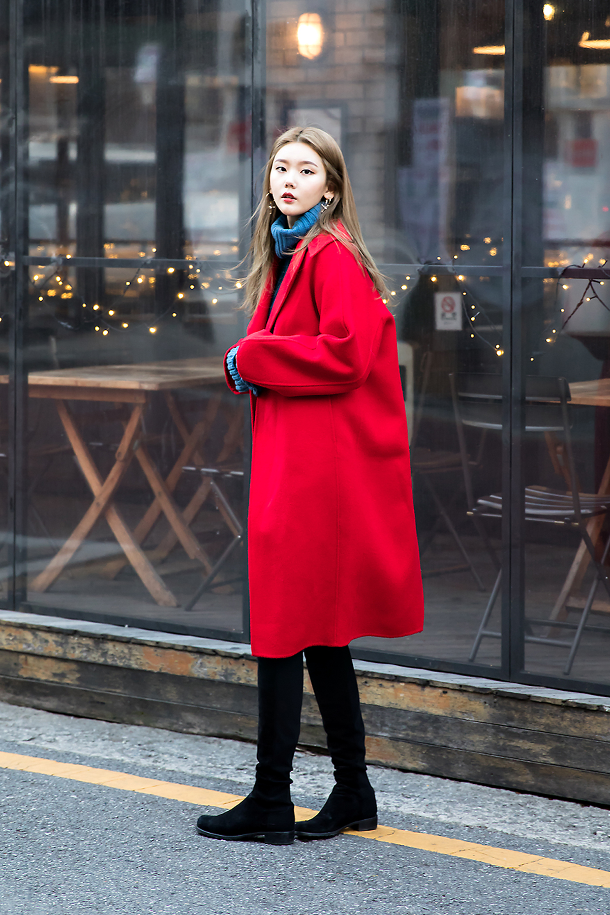 Sim Soyoung, Street style women winter 2017 inseoul