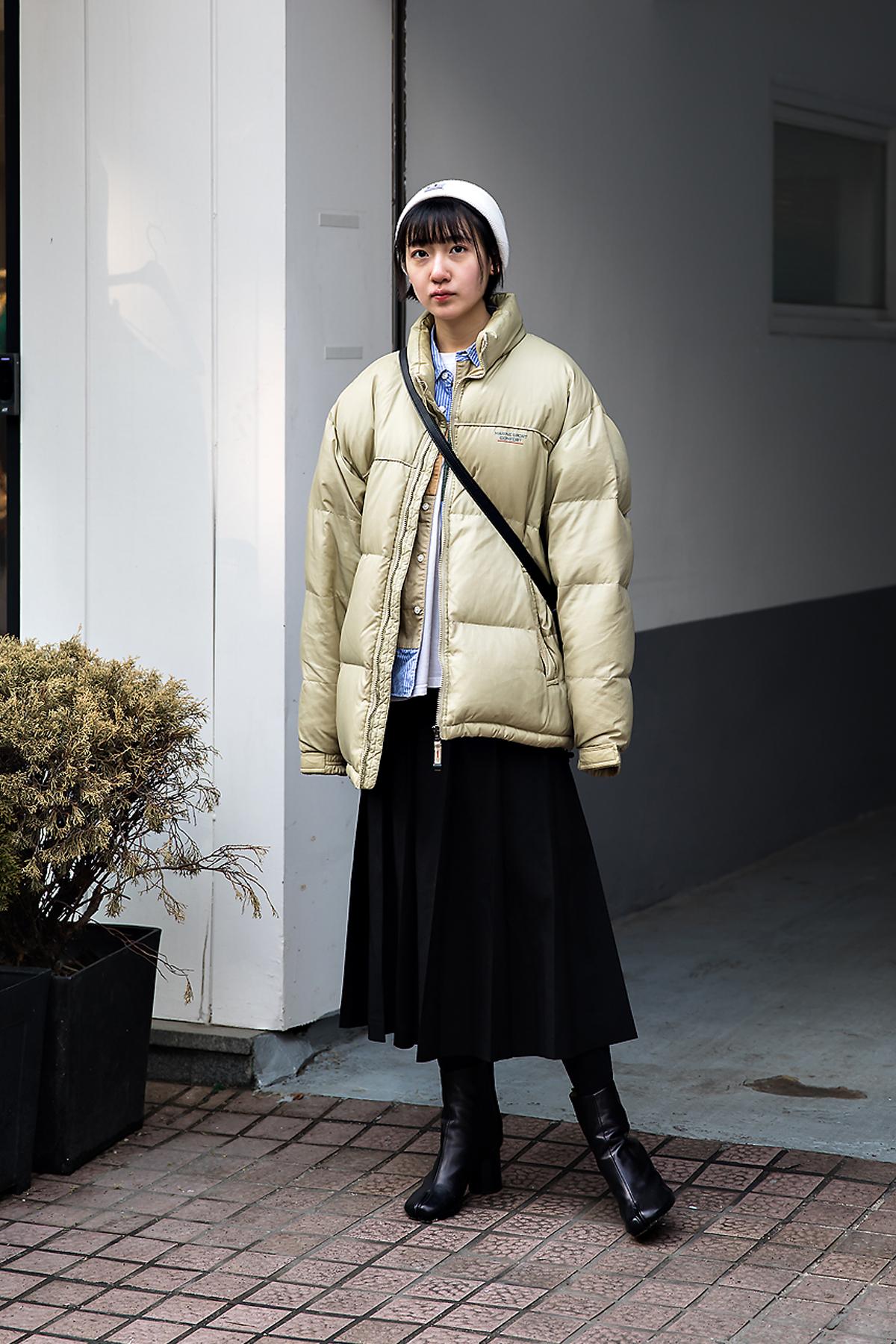 Yifan, Street style women winter 2017-2018 inseoul