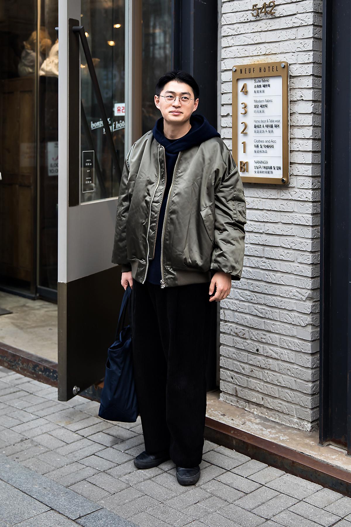 Yoo Juhyung, Street style men winter 2017-2018 inseoul
