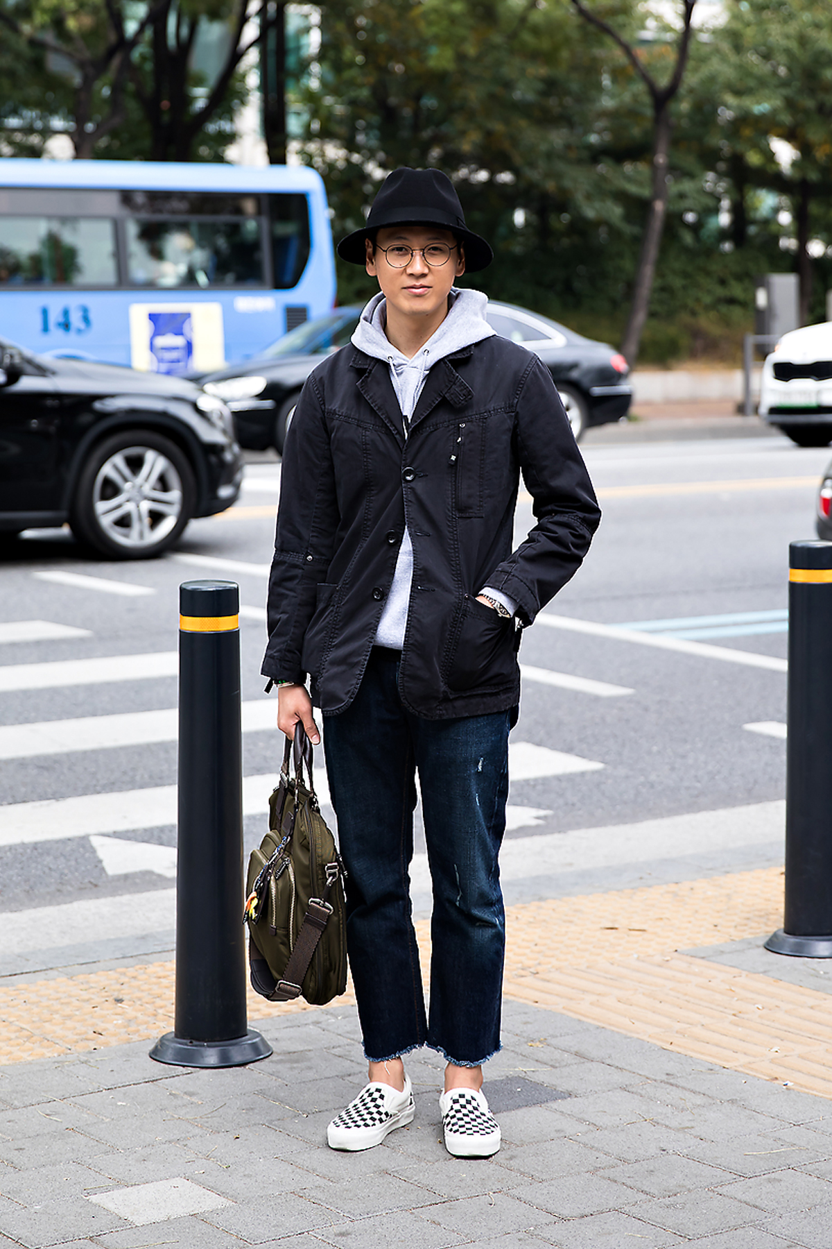 Yoo Seungbum, Street style men fall 2017 in seoul