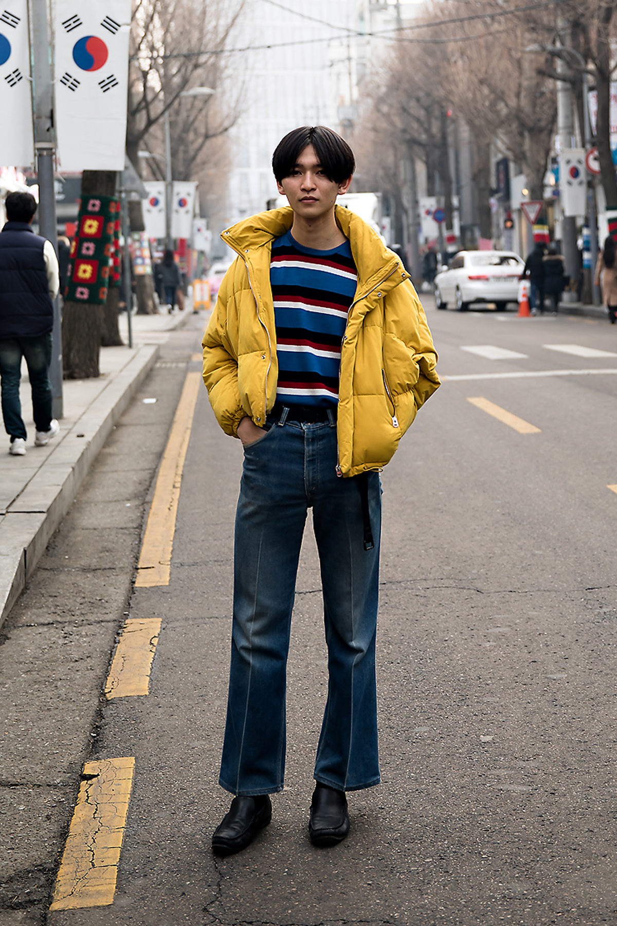 Yuyasudo, Street style men winter 2017-2018 inseoul