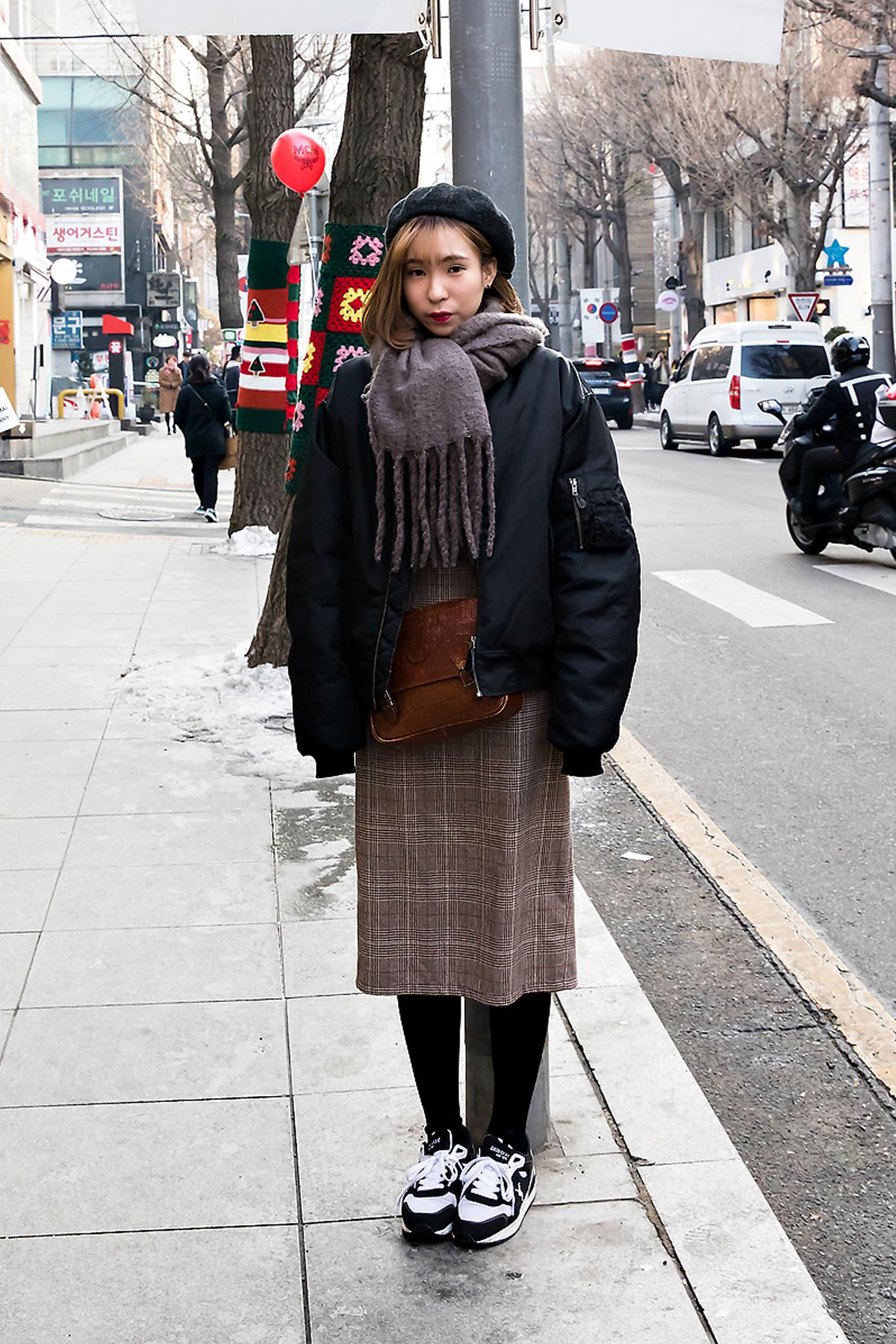 ZhangLisha, Street style women winter 2017-2018 inseoul