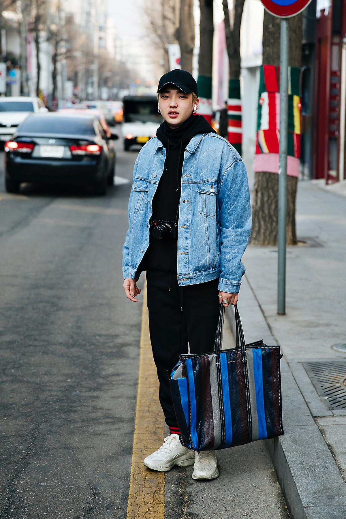 Choi Dongmin, Street style men winter 2017-2018 inseoul