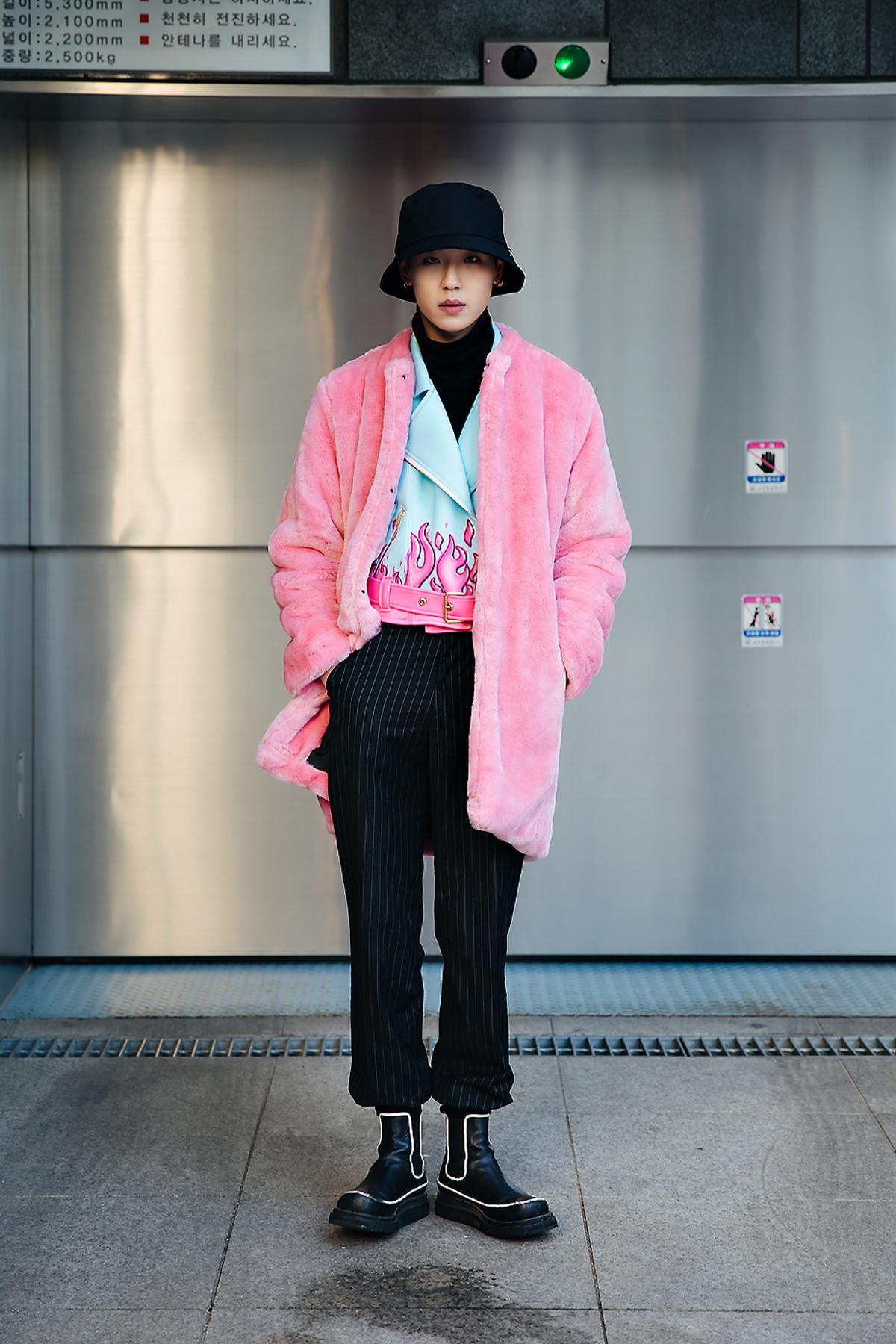 Eum Hyukjin, Street style men winter 2017-2018 inseoul