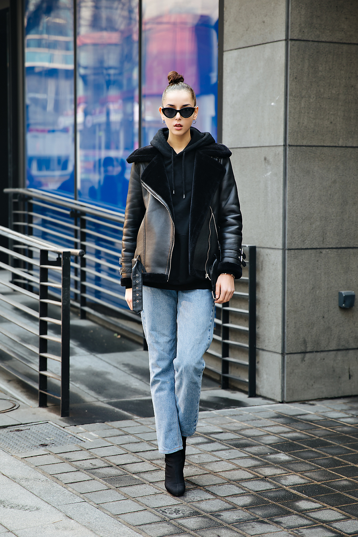 Gabriela Acquaviva Gisler, Street style women winter 2017-2018 in seoul