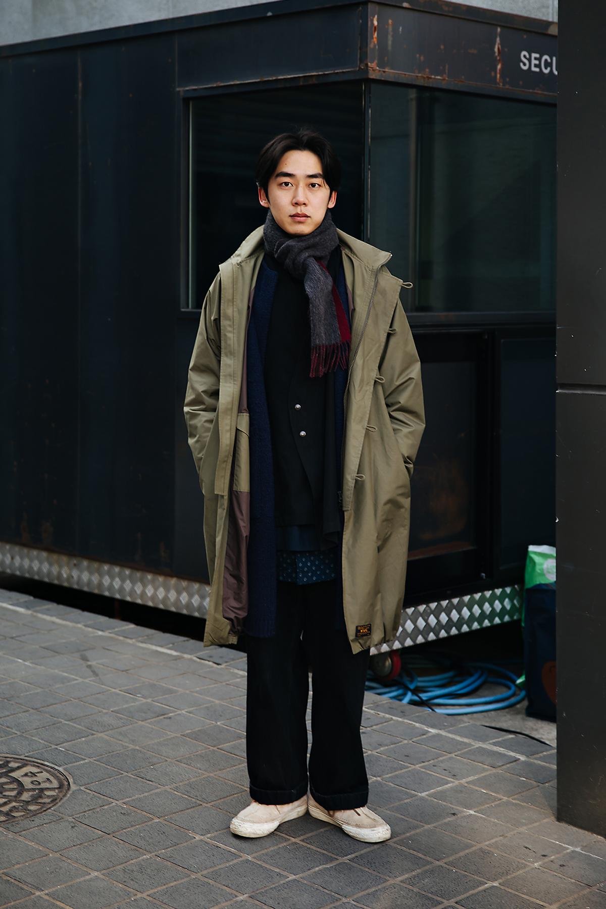 Ha Heon, Street style men winter 2017-2018 inseoul