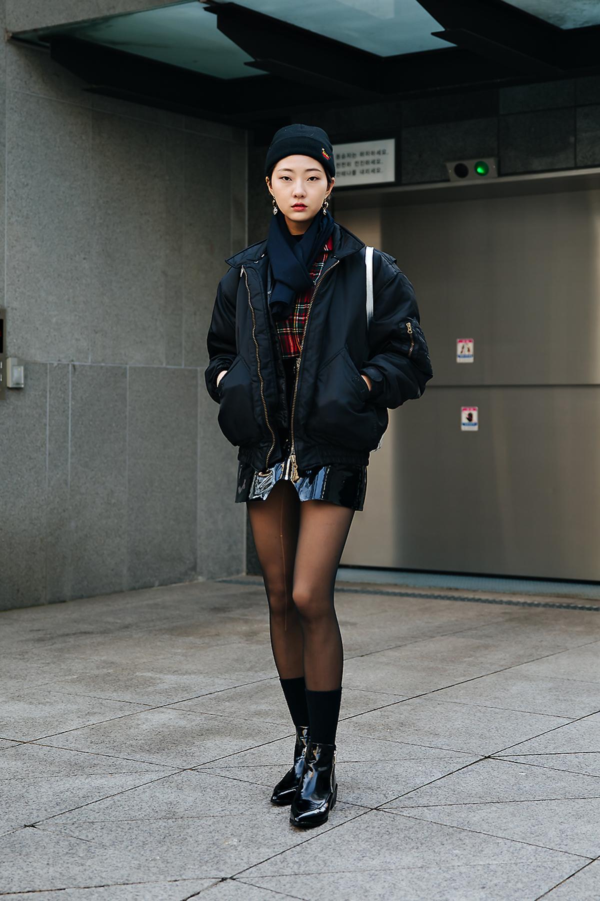 Ji Jian, Street style women winter 2017-2018 inseoul