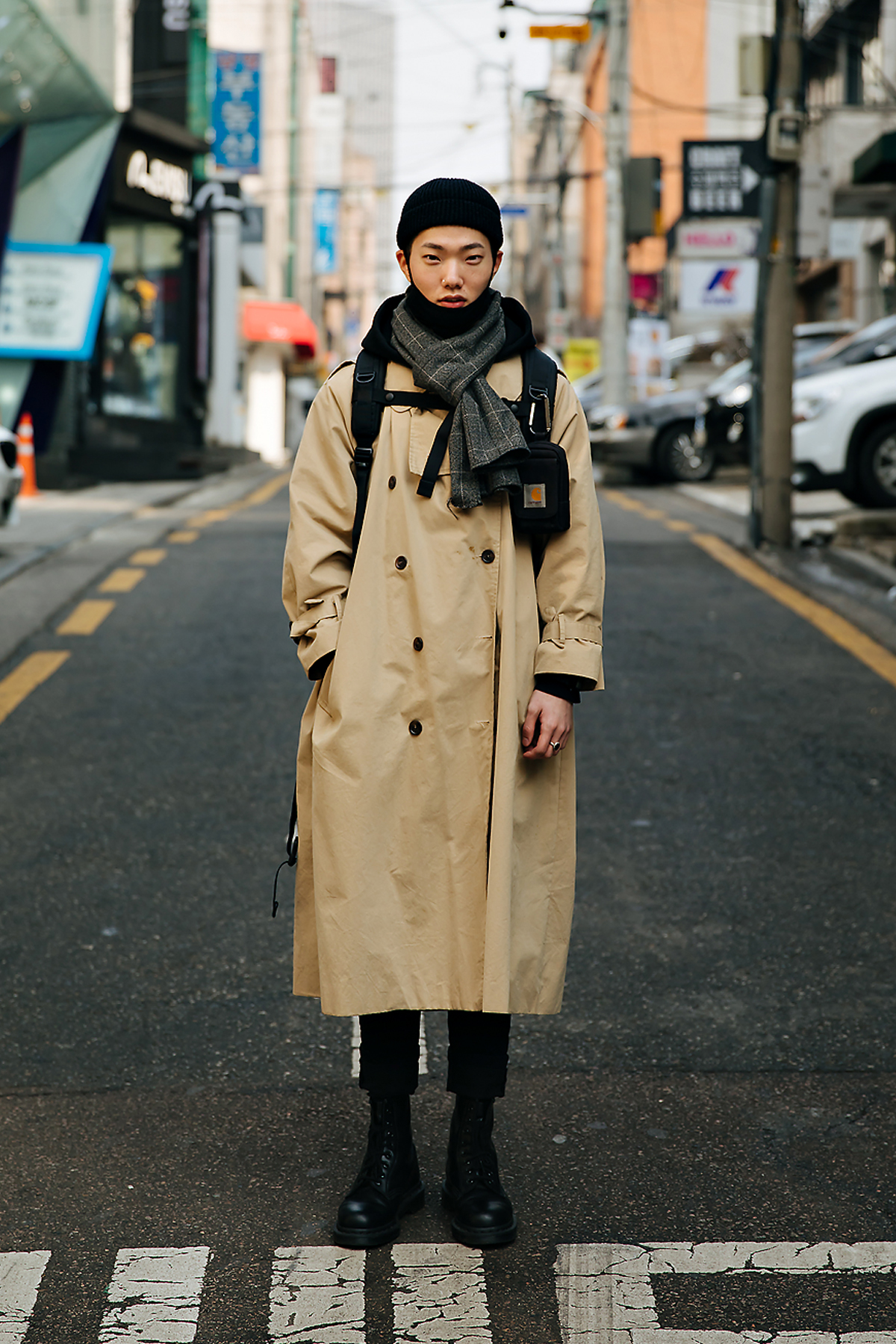 Jung Donghyun, Street style men winter 2017-2018 inseoul
