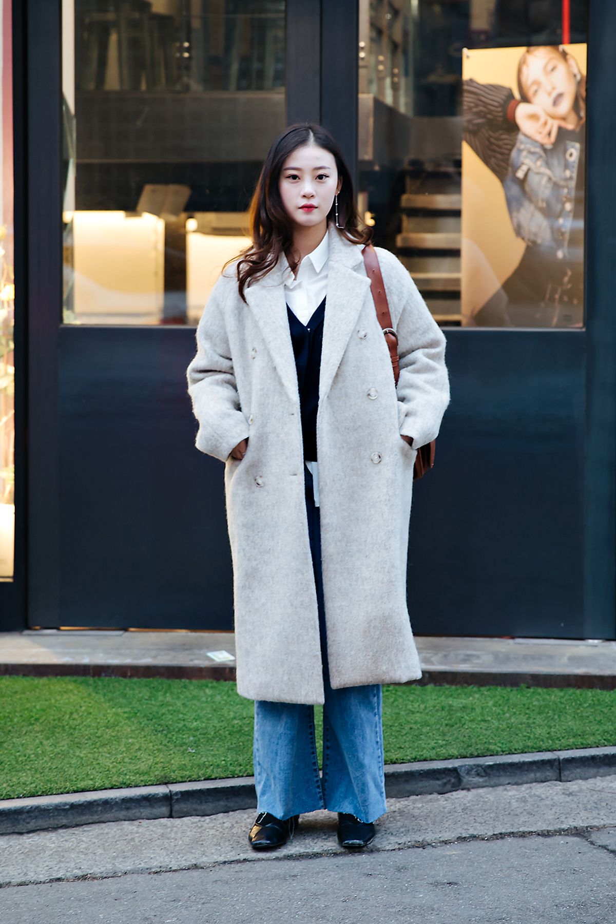 Jung Seomi, Street style women winter 2017-2018 in seoul