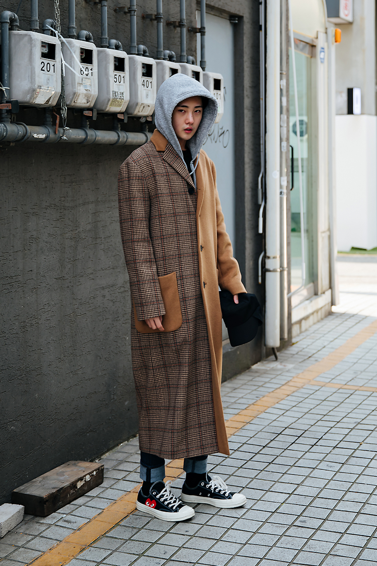Kim Judeu, Street style men winter 2017-2018 inseoul