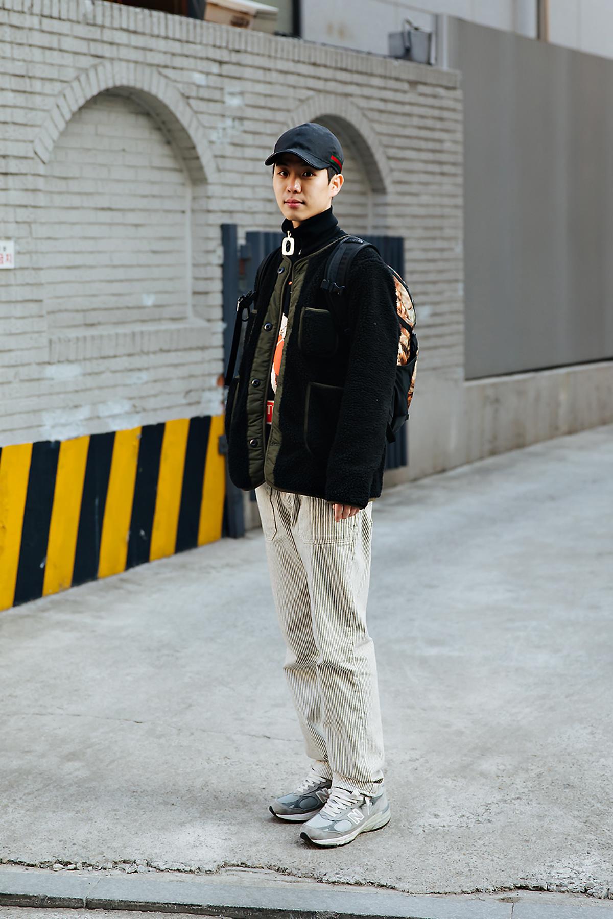Kim Junghoon, Street style men winter 2017-2018 inseoul