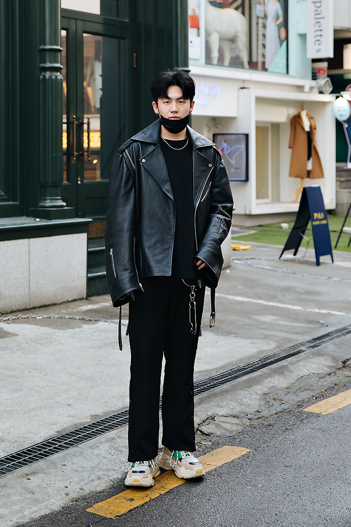 Kim Taeho, Street style men winter 2017-2018 inseoul