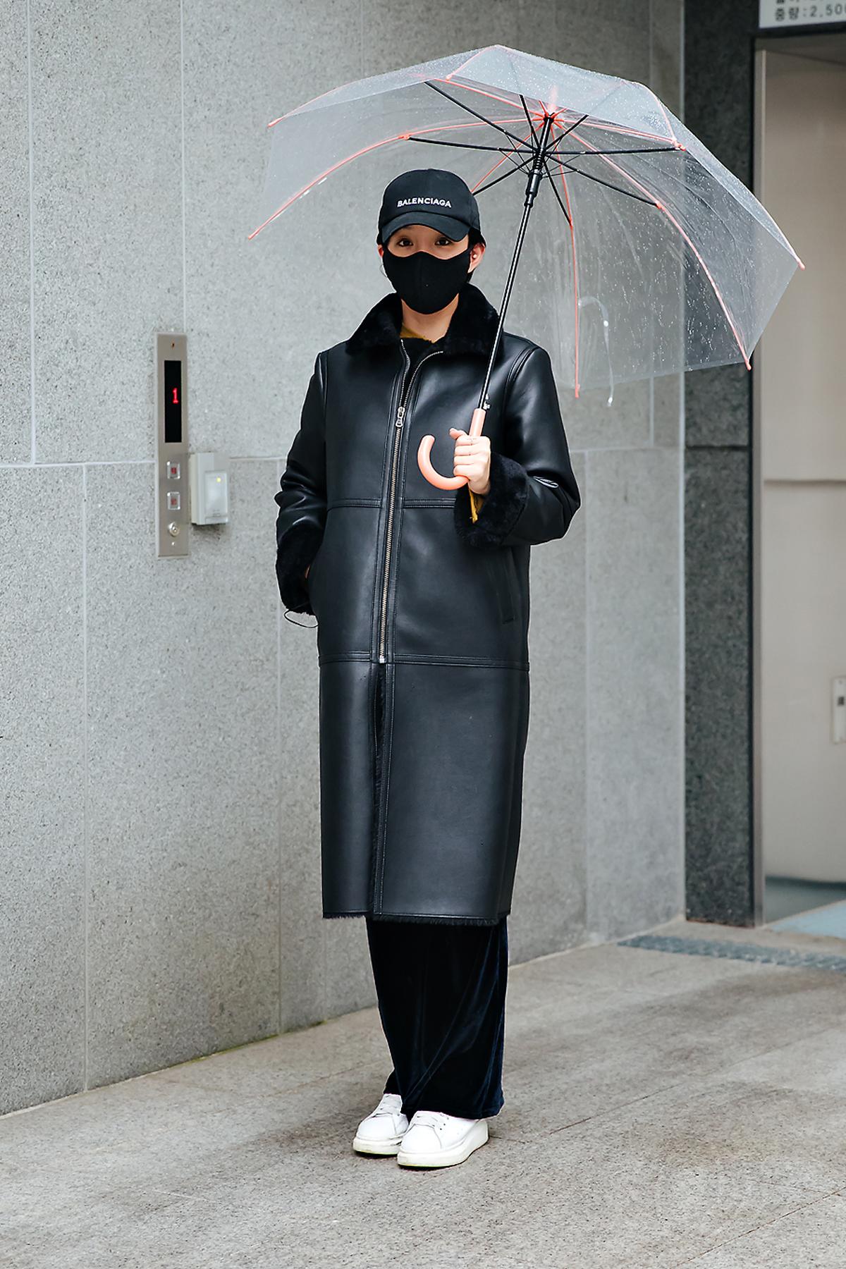 Lee Chaerin, Street style women winter 2017-2018 inseoul