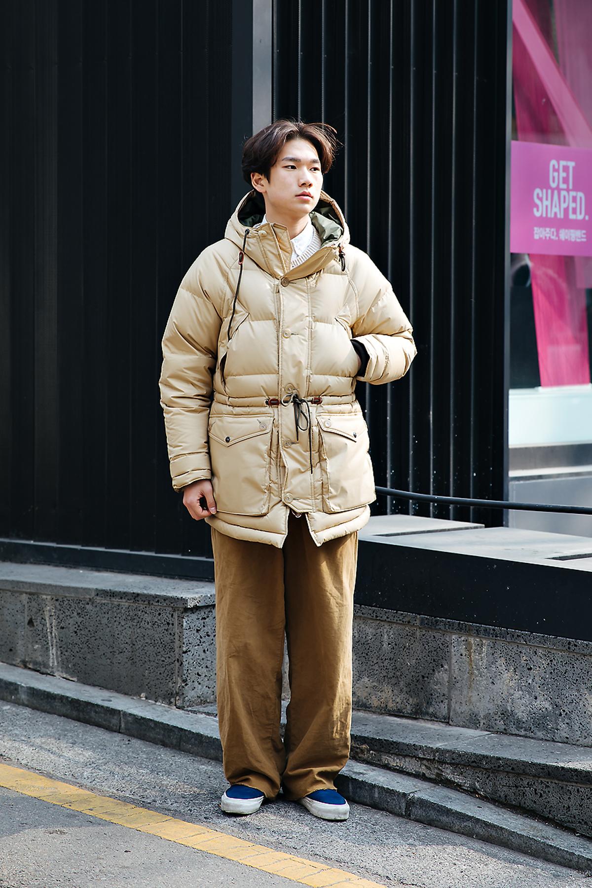 Lee Jiho, Street style men winter 2017-2018 inseoul