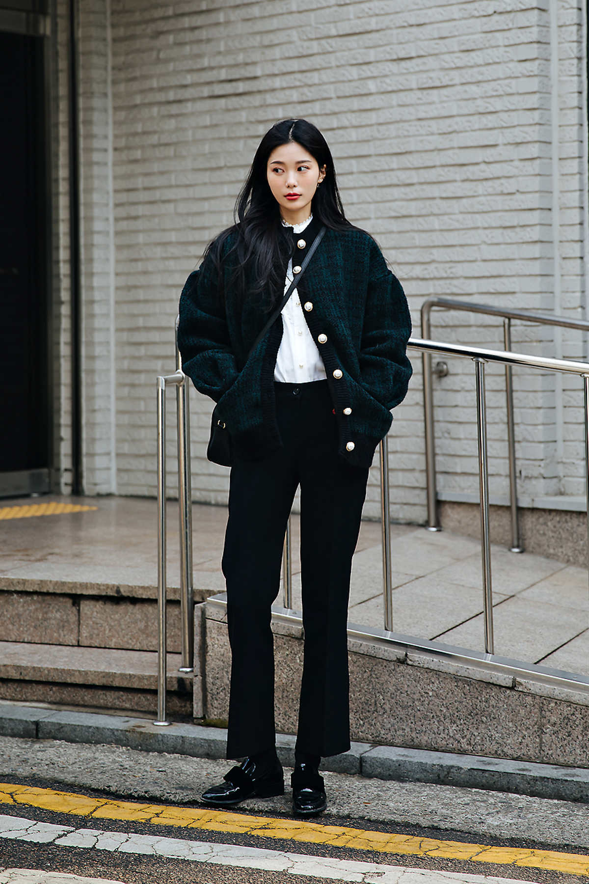 Lee Sanga, Street style women winter 2017-2018 in seoul