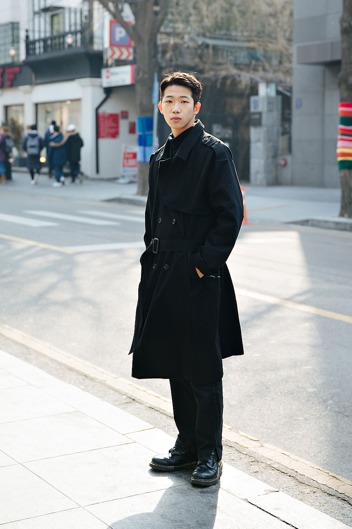 Lee Sihyung, Street style men winter 2017-2018 inseoul