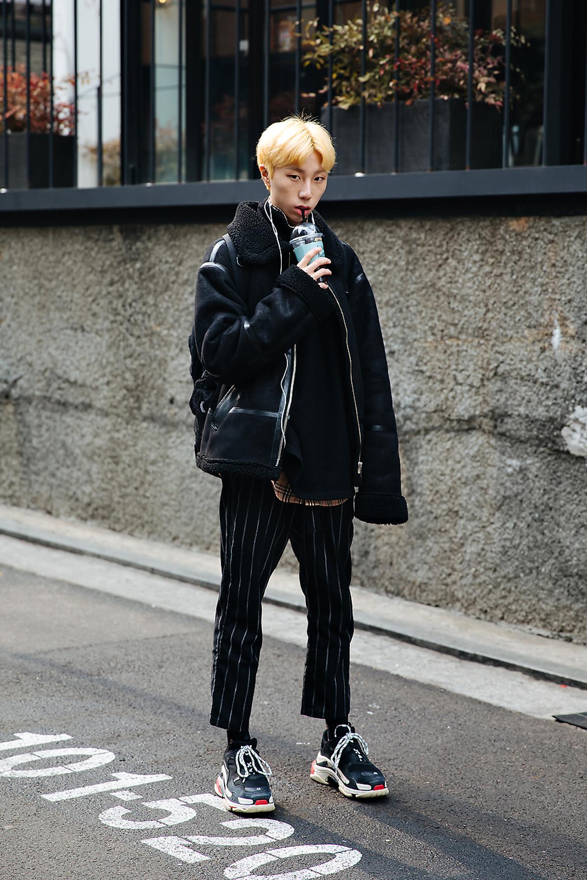 Lee Taegil, Street style men winter 2017-2018 inseoul1