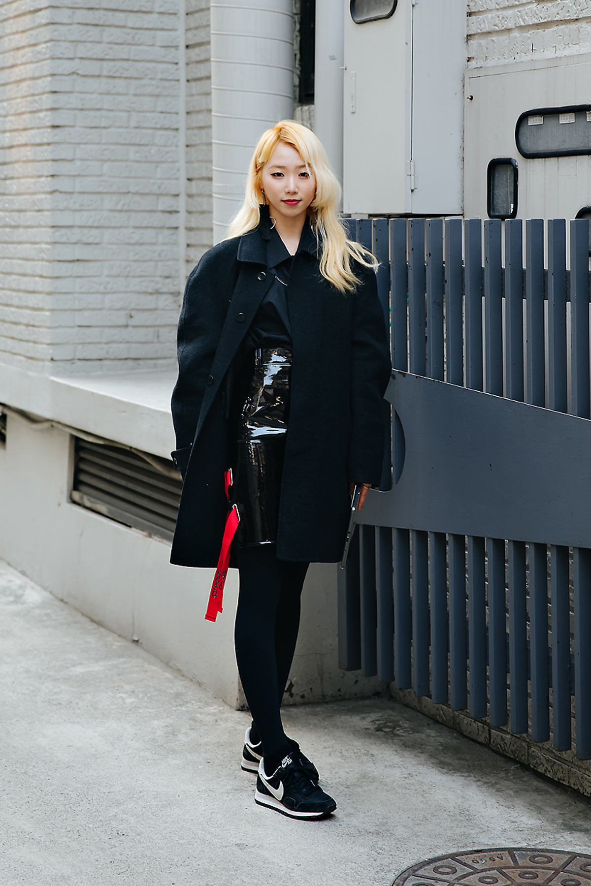 Nam Hyojung, Street style women winter 2017-2018 inseoul