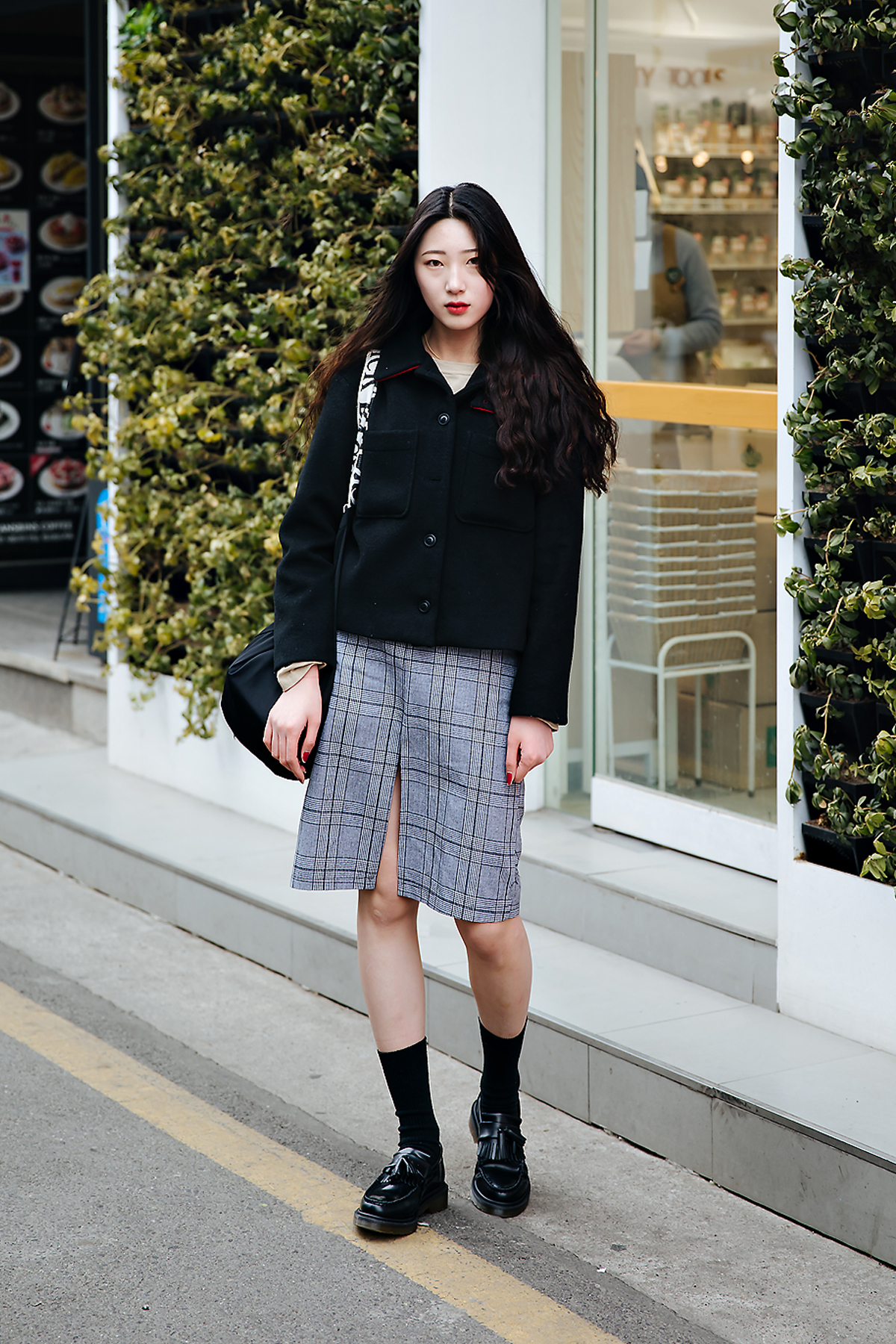 Park Sehee, Street style women winter 2017-2018 inseoul