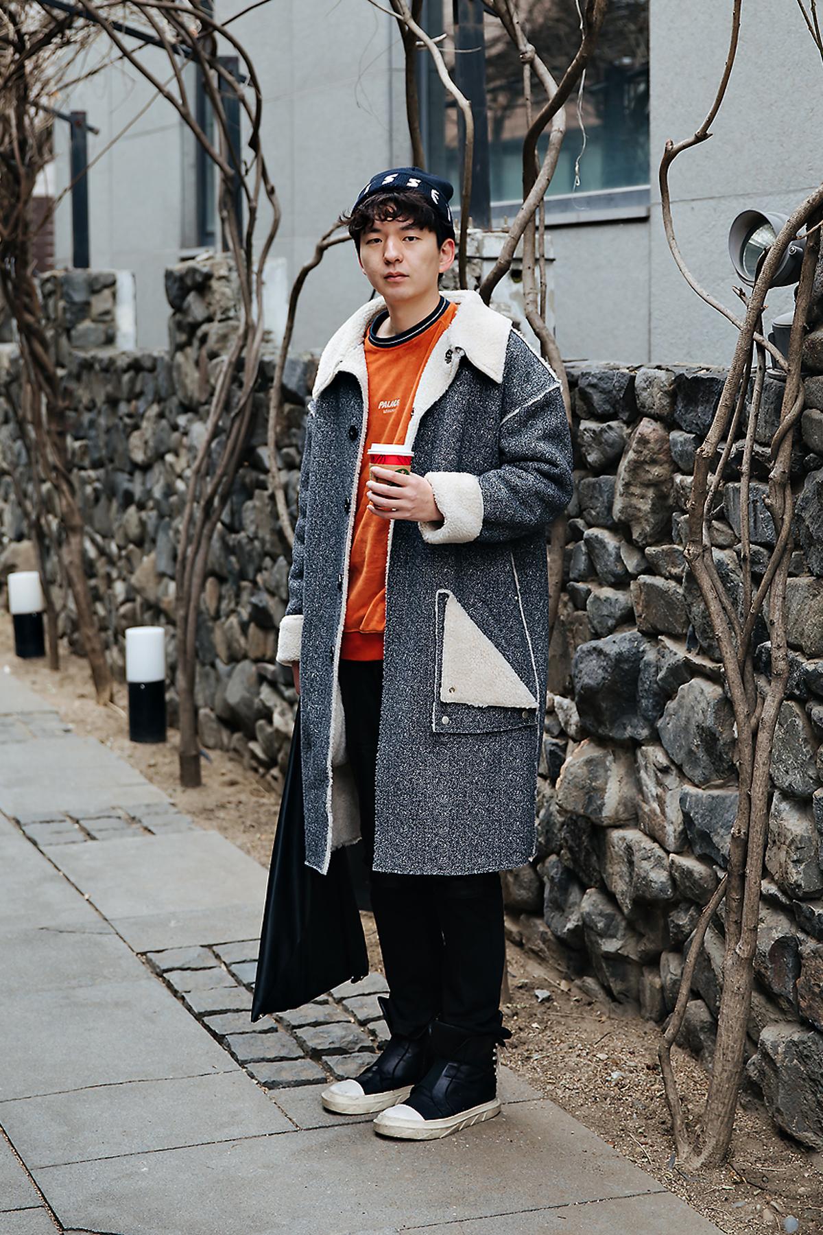 Park Taehee, Street style men winter 2017-2018 inseoul