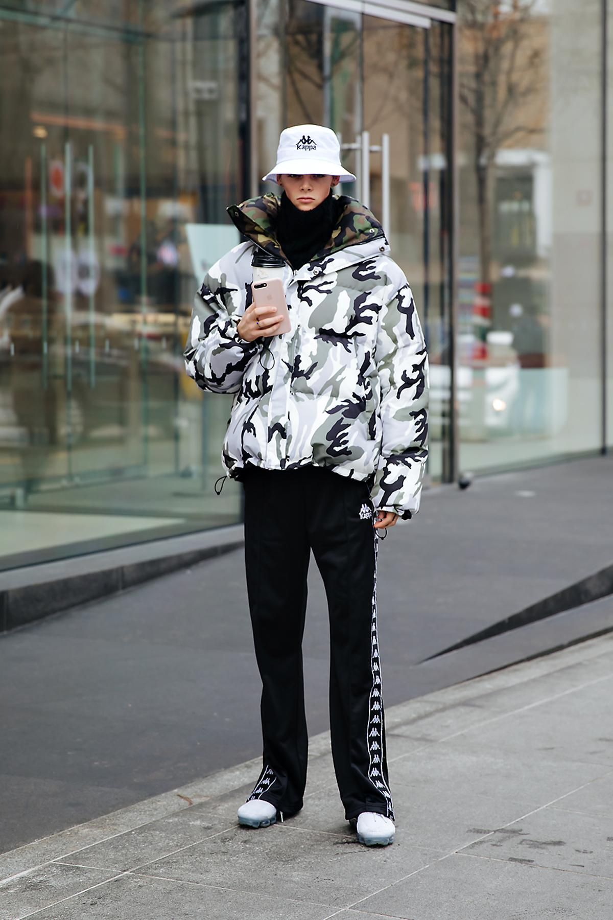 Sam, Street style women winter 2017-2018 inseoul