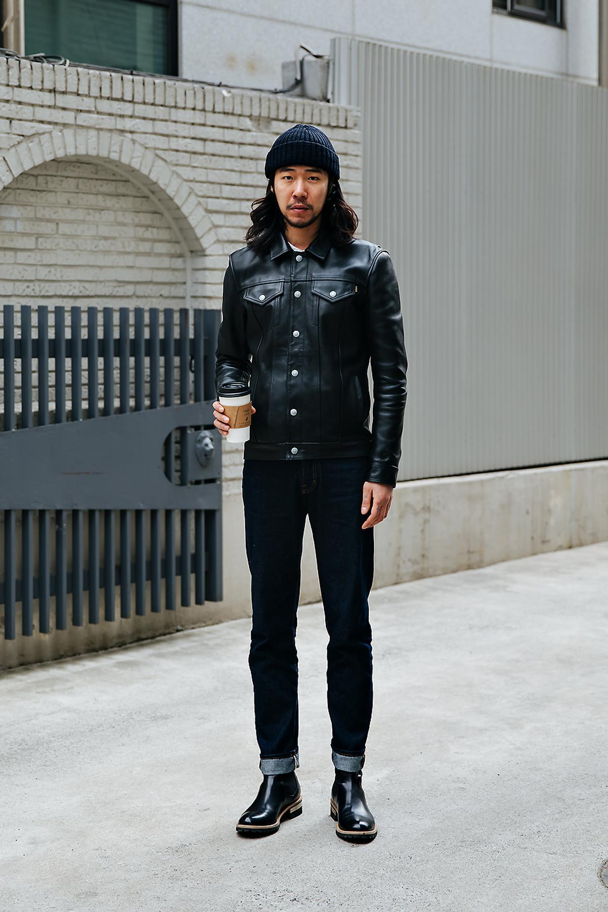 Shin Sooho, Street style men winter 2017-2018 inseoul