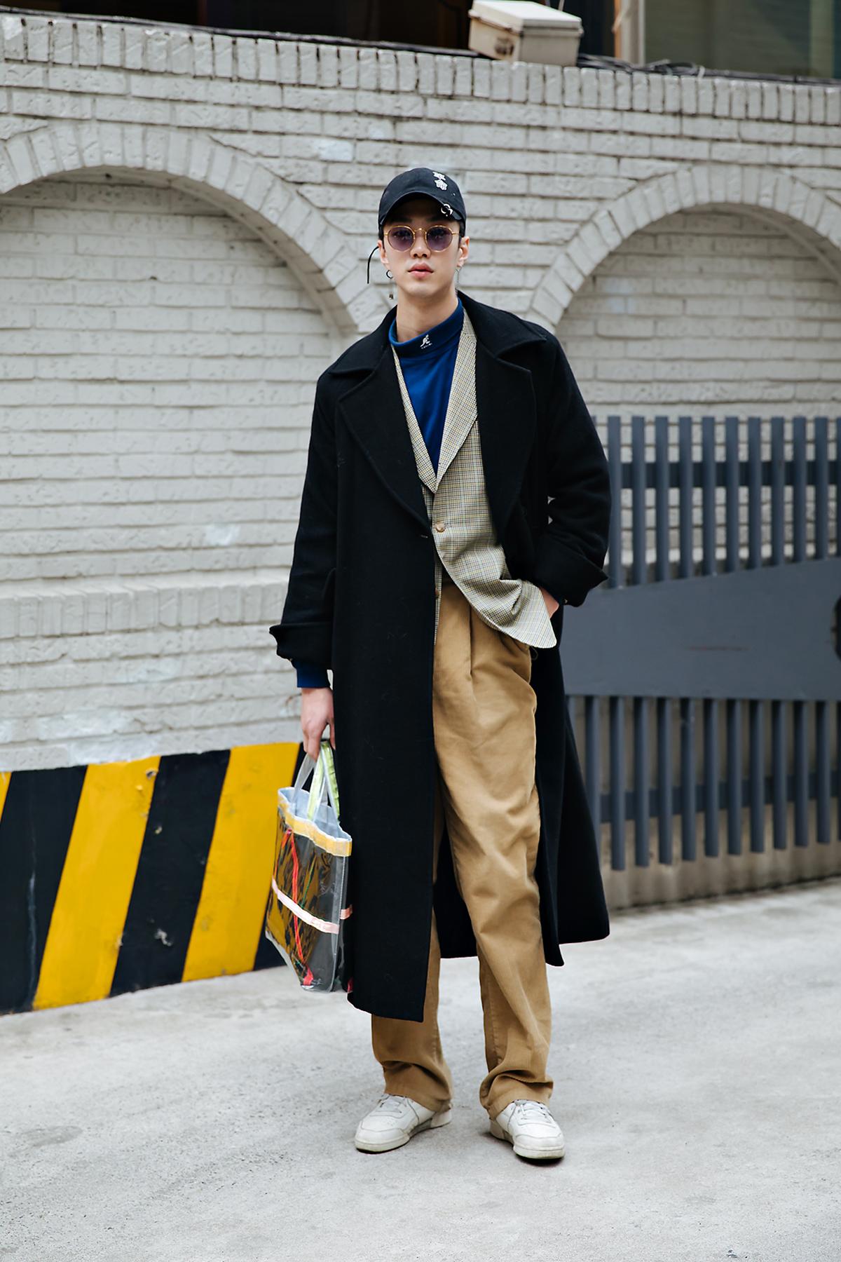 Si O, Street style men winter 2017-2018 inseoul